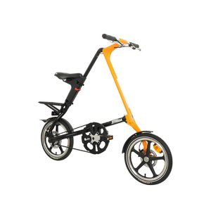 Strida LT QR PLUS 썬키스트 오렌지 & 무광블랙 Sunkist Orange & Matt Black (16인치)