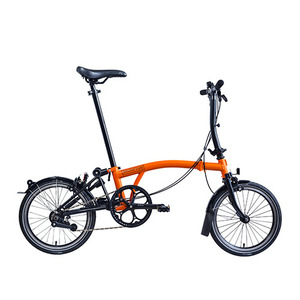 Brompton 2019Black Edition S2L-X OR'티타늄'