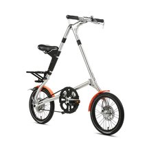 Strida 5.1 PLUS 브러쉬 실버 BRUSH SILVER (16인치)